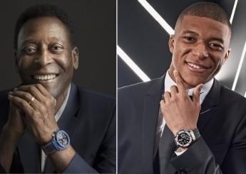 Fotbalisté Pelé a Kylian MBappé součástí Hublot rodiny