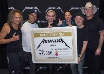 Metallica letos opět podpoří Obědy pro děti