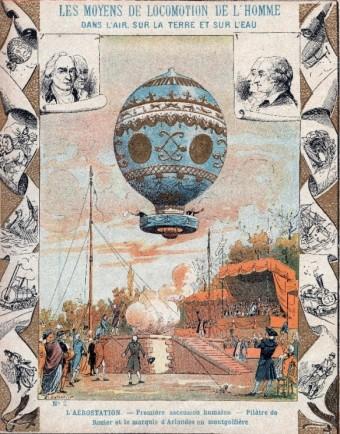První let balónem, Foto: Profimedia