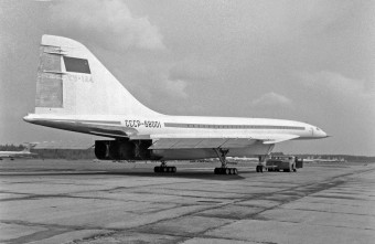 Nadzvukový letoun Tupolev, Foto: Profimedia