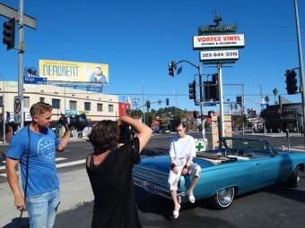 Focení s Janou Knauerovou v L.A.