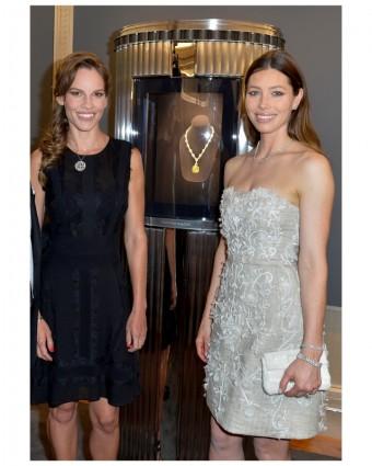 Hilary Swank, Jessica Biel - Tiffany & Co.