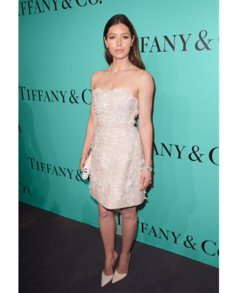 Jessica Biel - Tiffany & Co.
