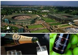 Lanson - oficiální partner Wimbledonu
