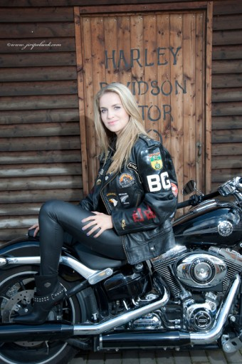 volba MISS Prague Harley Days