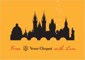 Veuve Clicquot překvapí na letošním Designbloku stylovou poštou