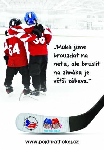 Nábor dětí do hokejových přírpavek - kampaň