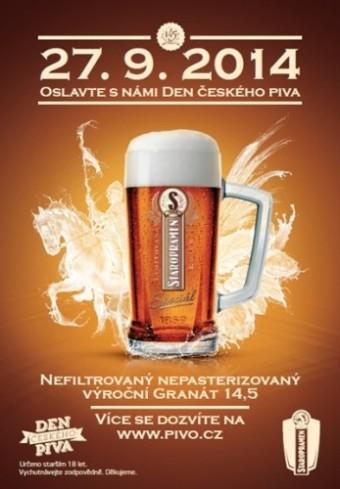 Den českého piva oslaví Staropramen speciálním silným Výročním Granátem 14,5