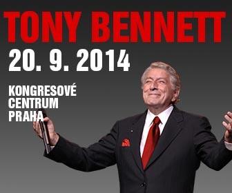 Velký Tony Bennett přijede koncertovat do Prahy