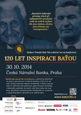 Konference 120 let založení firmy Baťa a 100 let narození Tomáše Bati Juniora