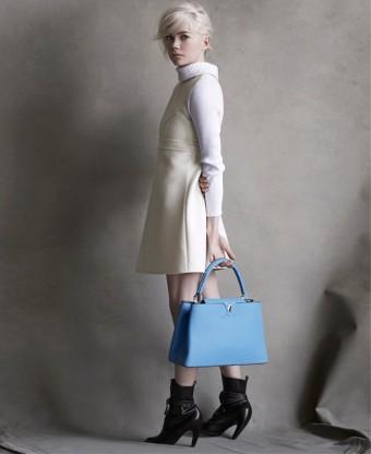 Michelle Williams pro Louis Vuitton - nová kampaň ve fotografiích Petera Lindbergha