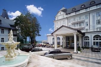 Esplanade Spa & Golf Resort v Mariánských Lázních