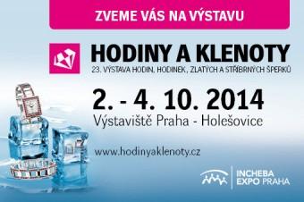 Výstava HODINY A KLENOTY 2014