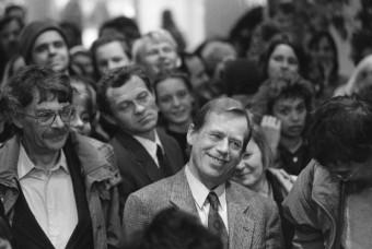 Vaclav Havel © Ondrej Nemec - Knihovna Vaclava Havla