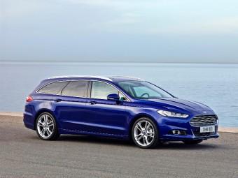 Nový Ford Mondeo přijíždí se systémem detekce chodců a novými motory