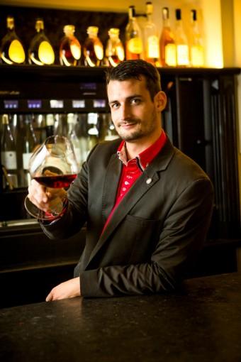 Jakub Přibyl, hlavníh sommelier společnosti Premier Wines & Spirits