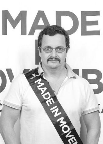Chlapi s kníry zahájili letošní Movember - Michal Viewegh