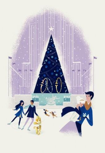 Tiffany odhaluje své legendární vánoční výlohy