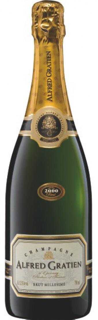 Champagne Alfred Gratien Brut Millésimé 2000