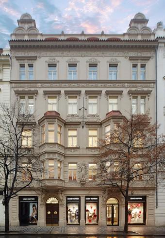 Louis Vuitton v Praze
