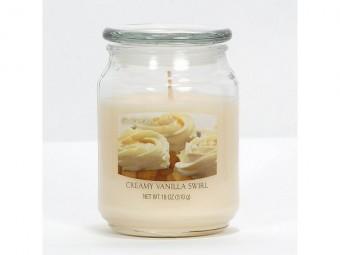 Smetanové vanilkové spirály