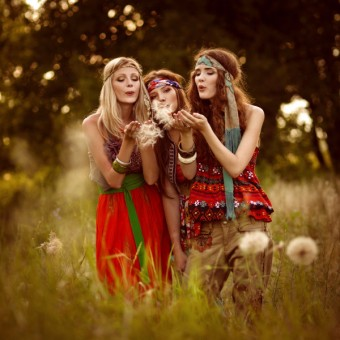 Hippies - zdroj: Shutterstock