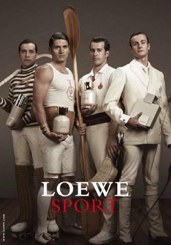 Čtyři symbolické vůně Loewe Sport a čtyři mimořádní šampioni, praví gentlemani španělského sportu