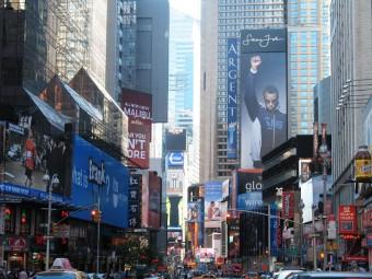 Oslavte Nový rok přímo v centru New Yorku