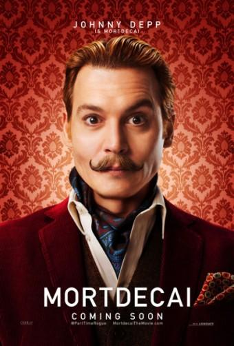 Johnny Depp, Mortdecai: Grandiózní případ