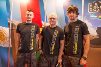 Posádka týmu KM Racing