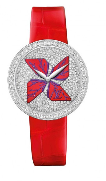 Hodinky jako šperk - Louis Vuitton