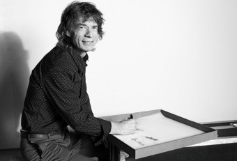 The Rolling Stones, Mick Jagger podepisuje knihu
