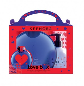 Valentine´s day Love Box Blue Lilac, Made in Sephora