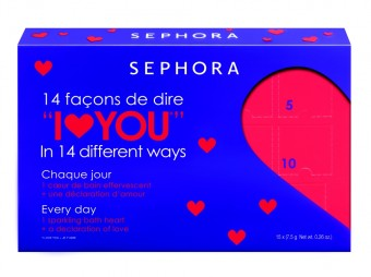 Valentine´s Day Calendar Of Love Blue Lilac, Made in Sephora