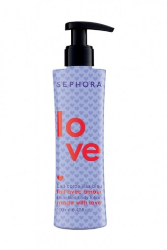 Valentine´s Day Moisturizing Body Lotion Blue Lilac, Made in Sephora