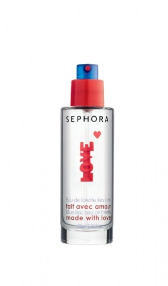 Valentine´s day Eau de toilette Blue Lilac, Made in Sephora