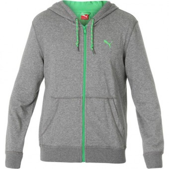 mikina PUMA BioDry Hooded Sweat Jacket