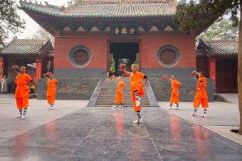 Chrám Shaolin, zdroj: Shutterstock