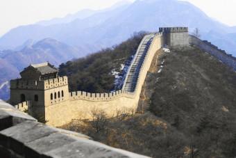 Velká čínská zeď, zdroj: Shutterstock