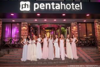 pentahotel Prague se stal oficiálním hotelem České Miss 2015