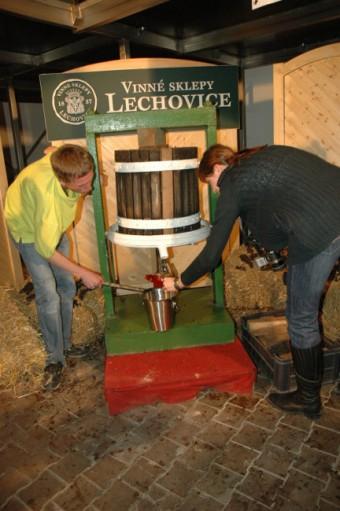 Vinný sklep Lechovice, Foto: Bohumil Brejžek