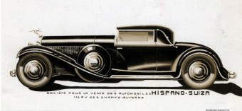 Hispano Suiza H6B Cabriolet par Million Guiet