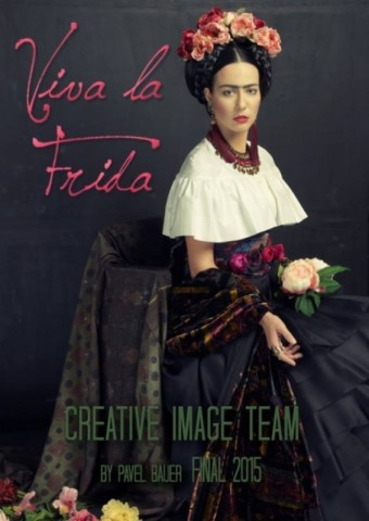 Viva la Frida vizážisty Pavla Bauera, WORLD OF BEAUTY & SPA