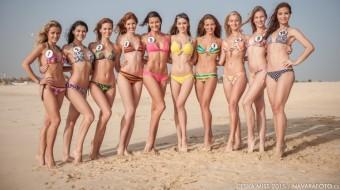Finalisky České Miss 2015, kolekce plavek a prádla butiku Fashion Island, WORLD OF BEAUT Y& SPA