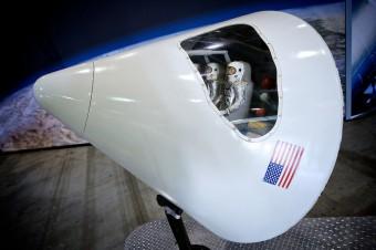 Návratová kabina americké kosmické lodi