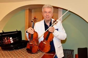 český houslový virtuóz Jaroslav Svěcený