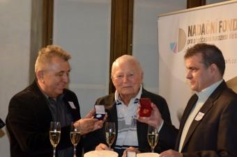 Zleva: Fero Fenič, Karel Fiala a Kamil Spáčil