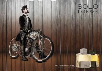 Advertising picture Solo Loewe Cedro, by Perfumes Loewe