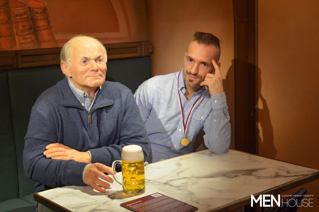 Šéfredaktor David Radil se šel poradit s panem Hrabalem