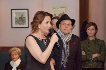 Jolana Voldánová s Janem Přeučilem